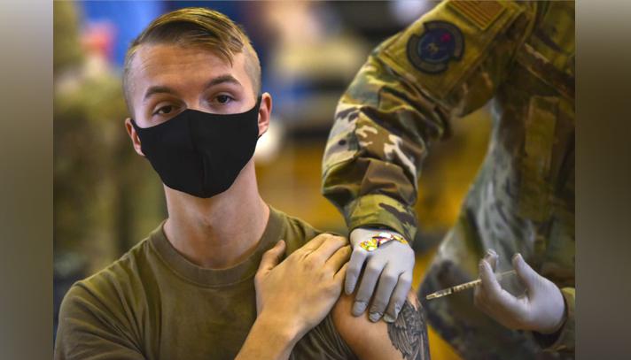 টিকা নিতে চায় না মার্কিন সামরিক বাহিনীর এক তৃতীয়াংশ সদস্য